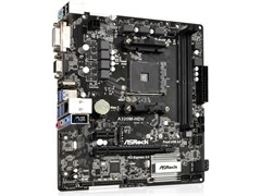(1010694) Материнская плата Asrock A320M-DGS Soc-AM4 AMD A320 2xDDR4 mATX AC`97 8ch(7.1) GbLAN RAID+DVI
