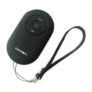 (1010684) Bluetooth - колонка CROWN CMBS-312 black (3W; Bluetooth функция, звонки и прослушивание аудио;  Спуск затвора камеры смартфона;MP3 плеер с карт памяти microSD;FM радио.)