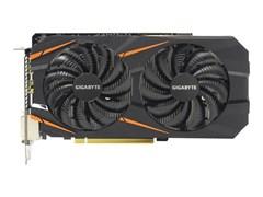 (1010518) Видеокарта Gigabyte PCI-E GV-N1060WF2OC-6GD NV GTX1060 6144Mb 192b GDDR5 1582/8008 DVIx2/HDMIx1/D