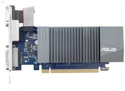 (1010713) Видеокарта Asus PCI-E GT710-SL-2GD5 NV GT710 2048Mb 64b GDDR5 954/5012 DVIx1/HDMIx1/CRTx1/HDCP Ret l