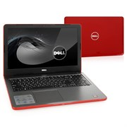"(1010753) Ноутбук Dell Inspiron 5565 A9 9400, 8Gb, 1Tb, DVD-RW, AMD Radeon R5, 15.6"", HD (1366x768), Linux, red, WiFi, BT, Cam (5565-7759)"