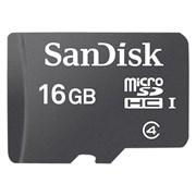 (1010747) Флеш карта microSDHC 16Gb Class4 Sandisk SDSDQM-016G-B35 Mobile w/o adapter