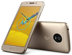 "(1010937) Смартфон Motorola XT1676 MOTO G5 16Gb золотистый моноблок 3G 4G 2Sim 5"" 1080x1920 Android 7.0 13Mpix 802.11abgn BT GPS GSM900, 1800 GSM1900 TouchSc MP3 FM A-GPS microSDXC max128Gb"