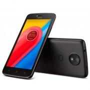 "(1010934) Смартфон Motorola C 4G XT1754 MT6737Mx4, 1GB, 16Gb,  5""(854x480) 2sim, Android 7.0, Черный, 3G, Cam 5Mpix, WiFi, BT, GPS, 2350mAh"