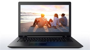 "(1010930) Ноутбук Lenovo IdeaPad 110-17ACL E2 7110, 4Gb, 500Gb, AMD Radeon R2, 17.3"", HD+ (1600x900), Free DOS, black, WiFi, BT, Cam"