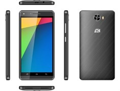 "(1010975) Смартфон ARK Benefit S502 MediaTek MT6580x4, 512mb, 8Gb, 5""(540x960) 2sim, Android 5.1, Черный, 3G, Cam 5Mpix, WiFi, BT, GPS, 1800mAh"