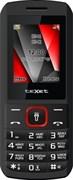 """(1010972) Телефон teXet ТМ-127 ,  1.77"""" (128x160), 2sim, Черный-Красный, BT,  500mAh"""