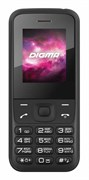"""(1010971) Мобильный телефон Digma Linx A100 2G Spreadtrum SC6531DA, 4mb,  1.77"""" (128x160), 2sim,bt, Черный, 600mAh"""