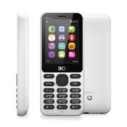 "(1010956) Мобильный телефон BQ-2431 Step L+, 32mb, 32mb, 2sim, 2.4""  (240х320), Белый, FM, BT,  600mAh"