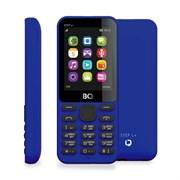 """(1010955) Мобильный телефон BQ-2431 Step L+, 32mb, 32mb, 2sim, 2.4""""  (240х320), Темно-Синий, FM, BT,  600mAh"""