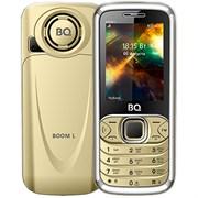 """(1010951) Мобильный телефон BQ-2427 BOOM, 32mb, 32mb, 2sim, 2.4""""  (240х320), Золотой, Cam 1,3mp, 1700mAh"""