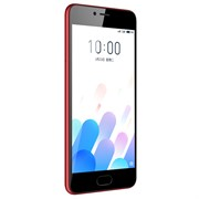 "(1010989) Смартфон Meizu M5c Красный, MediaTek MT6737x4, 2Gb, 16Gb, Mali-T860 MP2, 5"", IPS (1280x720), Android 6, 3G, 4G/LTE, WiFi, GPS/ГЛОНАСС, BT, Cam, 3000mAh"