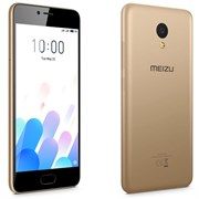 "(1010987) Смартфон Meizu M5c Золотой, MediaTek MT6737x4, 2Gb, 16Gb, Mali-T860 MP2, 5"", IPS (1280x720), Android 6, 3G, 4G/LTE, WiFi, GPS/ГЛОНАСС, BT, Cam, 3000mAh"