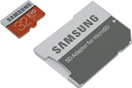 (1010980) Флеш карта microSD 32Gb Class10 Samsung MB-MC32GA/RU EVO PLUS