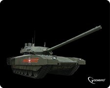 "(1011053) Коврик для мыши Gembird MP-GAME1, рисунок- ""танк-2"", размеры 250*200*3мм"
