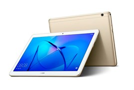 "(1011128) Планшет Huawei MediaPad T3 10 Qualcomm Snapdragon MSM8917x4, 2Gb, 16Gb,  9.6"", IPS (1280x800), Android 7.0, Золотистый, 3G, 4G (LTE), WiFi, BT, Cam, 4800mAh"