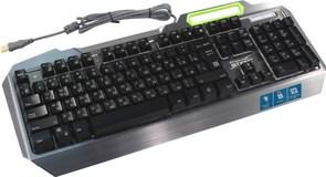 (212369) Клавиатура Defender Stainless steel GK-150DL, игровая, RGB подсветка (45150)