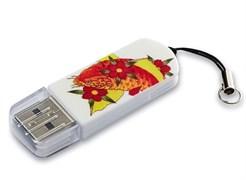 (1011148) Флеш Диск Verbatim 16Gb Store n Go Mini Tattoo Koi 49886 USB2.0 белый/рисунок