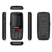 """(1011123) Защищенный телефон RugGear 160, 512Mb, 256Mb, 2.4"""" QVGA (240x320), 2sim, Android 4.4.2,  Черный,  Bluetooth 4.0, Mp3, FM-радио, 3G, GPS Диктофон, Водонепроницаемый, 1800mAh"""