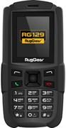 """(1011122) Защищенный телефон RugGear RG129 , 32Mb, 32Mb, 1.77"""" TFT (160x128), 2sim, Cam, Черный,  Bluetooth 2.1, Mp3, FM-радио, Фонарик, Водонипроницаемый, 800mAh"""