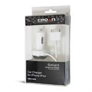 (1011071) Автомобильное зарядное устройство для iPhone CMCC-8330   (Для iPod iPhone и iPad.  Сила тока: 1A. Входное напряжение:12-24V)