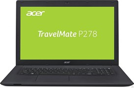"(1011137) Ноутбук Acer TravelMate TMP278-M-39EF 17.3"" черный Core i3 6006U, 4Gb, 500Gb, DVD-RW, Intel HD Graphics 520, 17.3"", HD+ (1600x900), Linux, black, WiFi, BT, Cam, 2520mAh (NX.VBPER.012)"