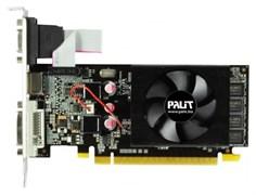 (1011181) Видеокарта Palit PCI-E PA-GT610-1GD3 NV GT610 1024Mb 64b DDR3 810/1070 DVIx1/HDMIx1/CRTx1/HDCP oem