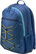 "(1011163) Рюкзак для ноутбука 15.6"" HP Active синий/желтый синтетика (1LU24AA)"
