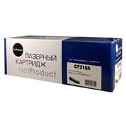(1011195) NetProduct CF218A Тонер-картридж для HP LaserJet Pro M104/MFP M132, 1,4K, БЕЗ ЧИПА