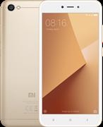 (1011208) Смартфон Xiaomi Redmi note 5A Золотой, 5.5'' 1280x720, 1.4GHz, 4 Core, 2GB RAM, 16GB, up to 128GB flash, 13Mpix/5Mpix, 2 Sim, 2G, 3G, LTE, BT, Wi-Fi, GPS, Glonass, 3080mAh, Android 7.1, 150g