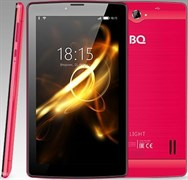 "(1011269) Планшет BQ-7083G Light SC7731 Cx4, 1Gb, 8Gb, 7"" TN (1024x600), Android 7.0, Красный, 3G, 2sim, WiFi, GPS, BT, Cam, 2400mAh"