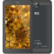 "(1011264) Планшет BQ-7081G Charm MT8321Mx4, 1Gb, 8Gb, 7"" IPS (1024x600), Android 7.0, Черный, 3G, WiFi, GPS, BT, Cam, 2650mAh"