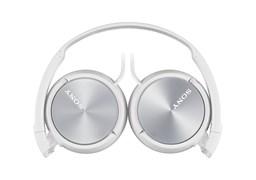 (1011257) Наушники накладные Sony MDRZX310W.AE 1.2м белый проводные (оголовье)