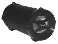 (1011280) Акустическая портативная система KS-is (KS-329Black) 5вт., Bluetooth, USB, microSD. LED подсветка.