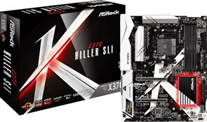 (1011396) Материнская плата Asrock X370 KILLER SLI Soc-AM4 AMD X370 Soc-AM4 AMD X370 4xDDR4 ATX AC`97 8ch(7.1) GbLAN RAID+HDMI