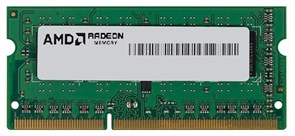 (1011431) Память DDR3 4Gb 1600MHz AMD R534G1601S1S-UGO OEM PC3-12800 CL11 SO-DIMM 204-pin 1.5В