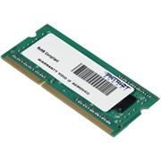(1011430) Память DDR3 2Gb 1600MHz Patriot PSD32G160081S RTL PC3-12800 CL11 SO-DIMM 204-pin 1.5В