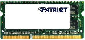 (1011454) Модуль памяти для ноутбука 4GB PC12800 DDR3 SO-DIMM PSD34G1600L2S PATRIOT