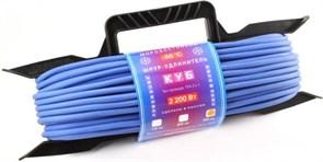 """(1011557) Удлинитель на рамке """"PowerCube"""" 10А/2,2 кВт, 1 розетка,30м, морозостойкий"""