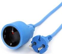 """(1011555) Удлинитель на рамке """"PowerCube"""" 10А/2,2 кВт, 1 розетка, 10м, морозостойкий"""