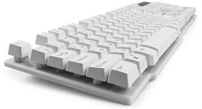 (1011502) Клавиатура Гарнизон GK-200, USB, белый, механизированные клавиши