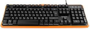 """(1011501) Клавиатура игровая Гарнизон GK-320G, подсветка, код """"Survarium"""",  USB, черный, антифантомные  клавиши, 12 дополнительных функций"""