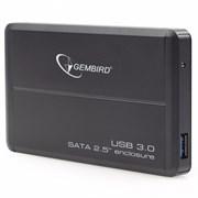 """(1011488) Внешний корпус 2.5"""" Gembird EE2-U3S-2, черный, USB 3.0, SATA, металл"""