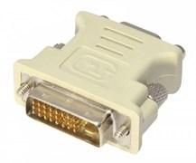 (1011481) Переходник DVI-VGA Cablexpert A-DVI-VGA, 29M/15F, пакет
