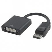 (1011472) Переходник DisplayPort - DVI Cablexpert A-DPM-DVIF-002, 20M/19F, черный, пакет