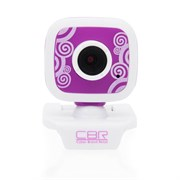 (1011579) Веб-камера CBR CW-835M Purple, универс. крепление, 4 линзы, эффекты, микрофон, CW 835M Purple