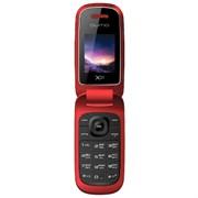 "(1011648) Мобильный телефон QUMO Push X21 red 1,8""LCD/2SIM/ MicroSD/BT/MP3 /MP4"