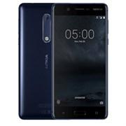 "(1011677) Смартфон NOKIA 5 Dual sim Синий, Snapdragon 430x8, 2Gb, 16Gb, 5.2"" (1280x720) Gorilla Glass, Android 7.1, 3G, 4G/LTE, WiFi, GPS,  BT, NFC, Cam 13 Mpix, 3000mAh (11ND1L01A15)"