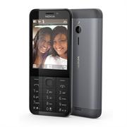 """(1011671) Мобильный телефон  Nokia 230 DS Черный- Серый , 2.8"""" (240x320), 2 sim, FM, BT, 1.3МП, microSD, 1020mAh (A00026971)"""