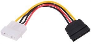 (1011736) Кабель питания SATA Cablexpert CC-SATA-PS, 15см, molex 4pin/sata 15pin, пакет